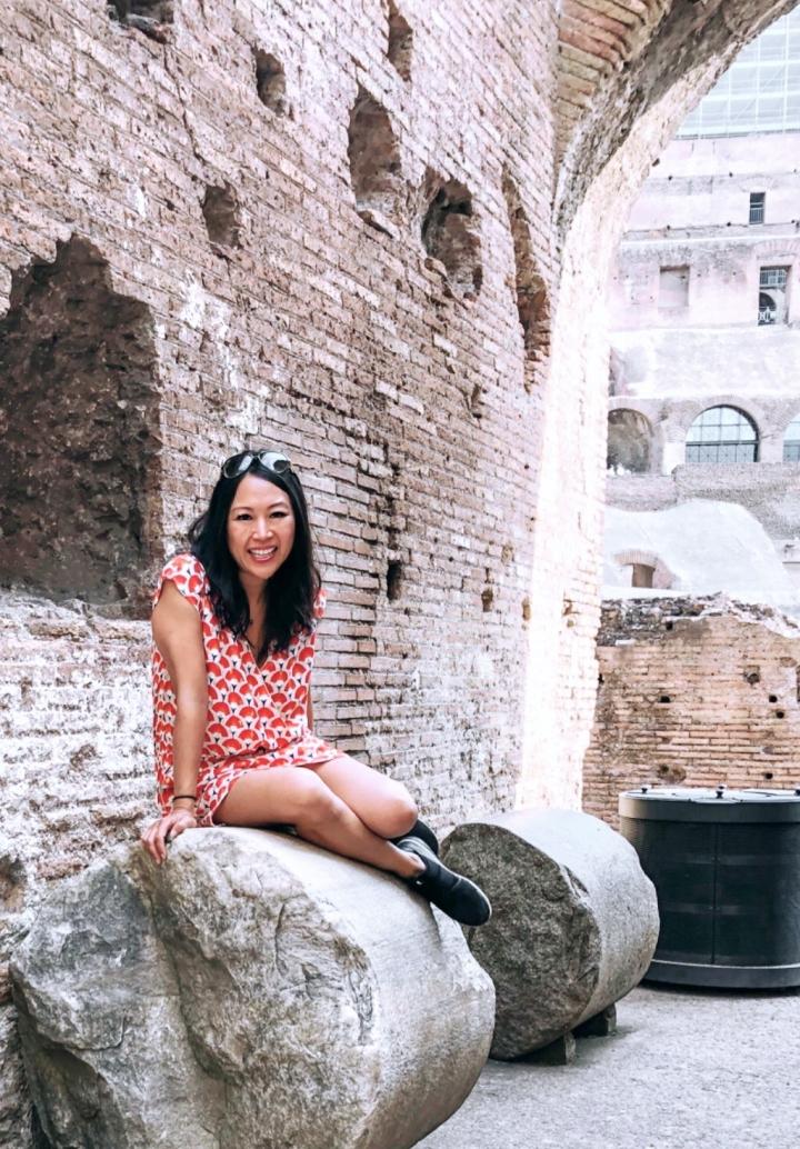 Roma Colosseum Tricia