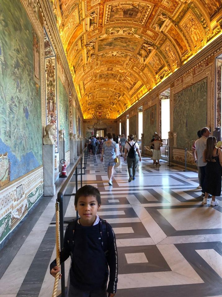 Beautiful Vatican Museum