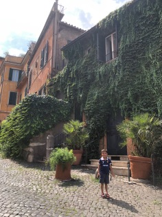 Meandering the streets of Roma